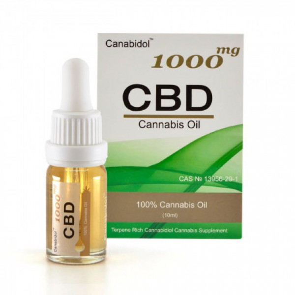 Canabidol CBD10011 1000mg Cannabis Oil