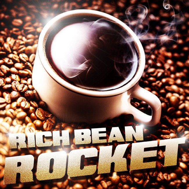 Rich Bean Rocket Coffee Flavour  E-Liquid