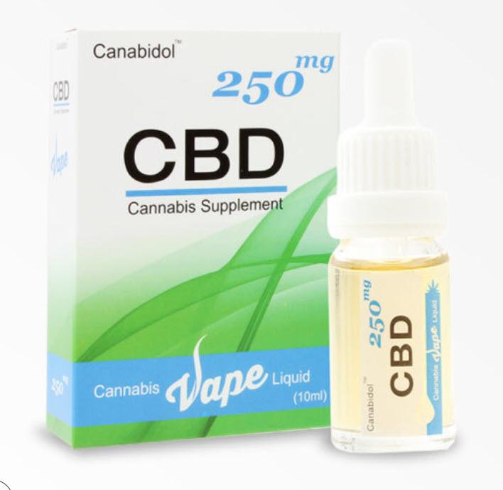 Canabidol VAPE 250mg Cannabis E-Liquid