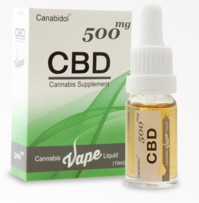 Canabidol VAPE 500mg Cannabis E-Liquid